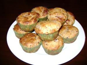 Cranberry muffins 004