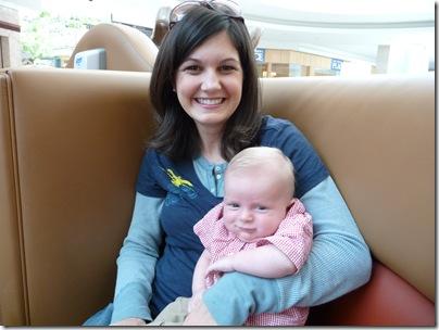 lindsey & baby brennan